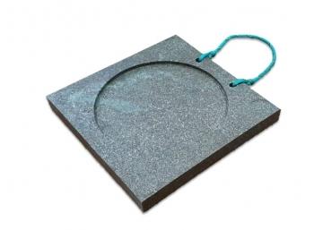 Опорная подушка аутригера квадратная 300x300x30