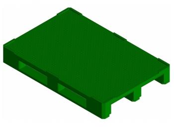 Поддон KADI-Kompozit 1200x800x150 зеленый