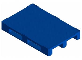 Поддон европаллет KADI-Kompozit 1200x800x150 синий